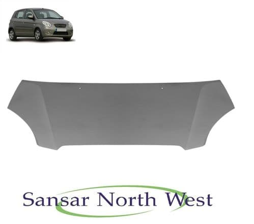 For Kia Picanto - Front Bonnet Panel - New - 2007 to 2011 Models